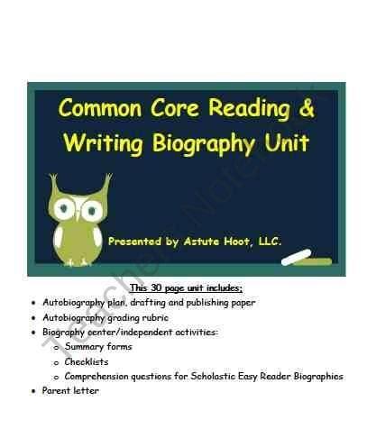 Write autobiography essay